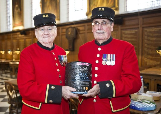 Cheese firms' festive cheer for Chelsea Pensioners ...