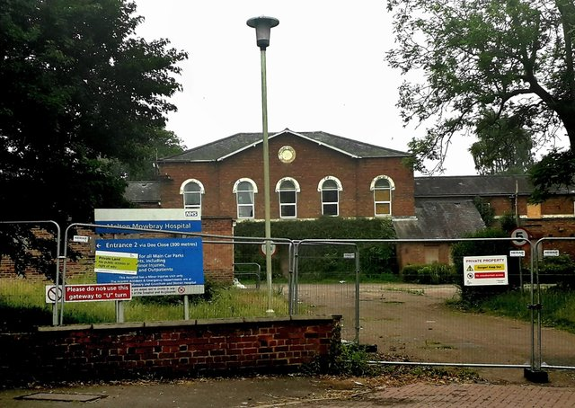 The old St Mary's Hospital site in Melton where a planning application has been approved for up to 46 new homes EMN-200826-095351001