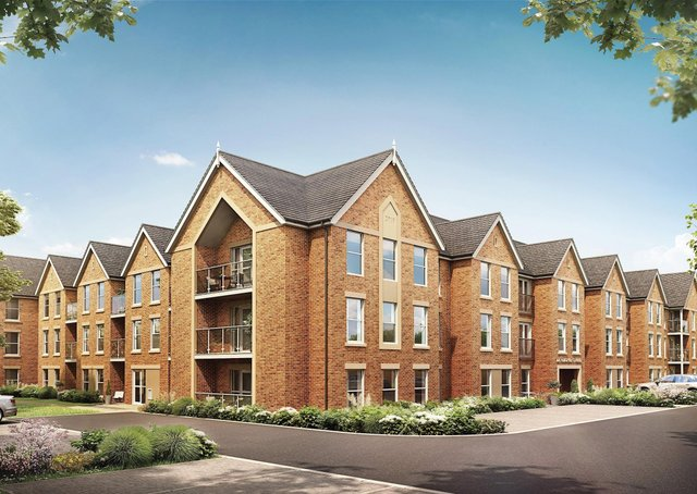 A computer-generated image of some of the apartments at the new Catherine Place retirement village on Melton's former Catherine Dalley House site EMN-200928-155302001