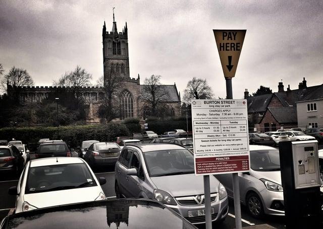 Burton Street car park in Melton EMN-201122-160302001