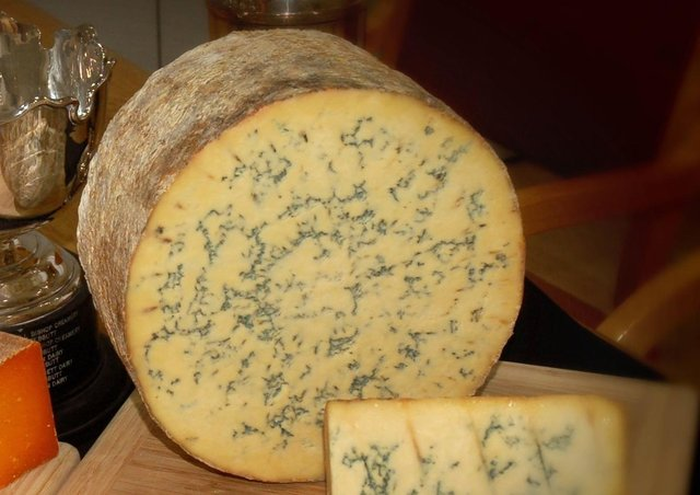 One of Long Clawson Dairy's champion cheeses from the 2018 Melton Fatstock Show, Blue Stilton EMN-200312-160232001