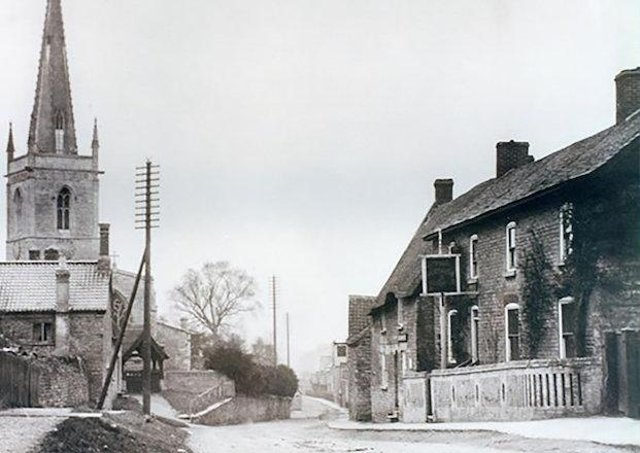 Waltham on the Wolds Then -  High Street in the early 1900s
