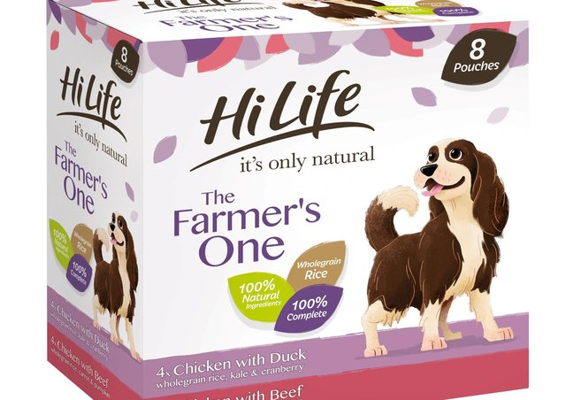 One of Town & Country's dog food products.