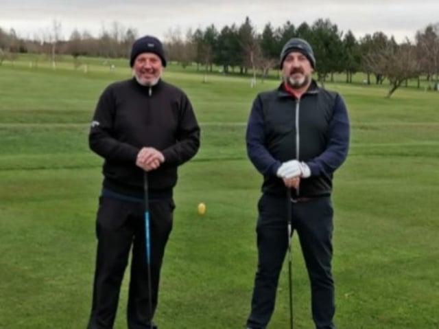 Dave Taylor and Jon Herbert.