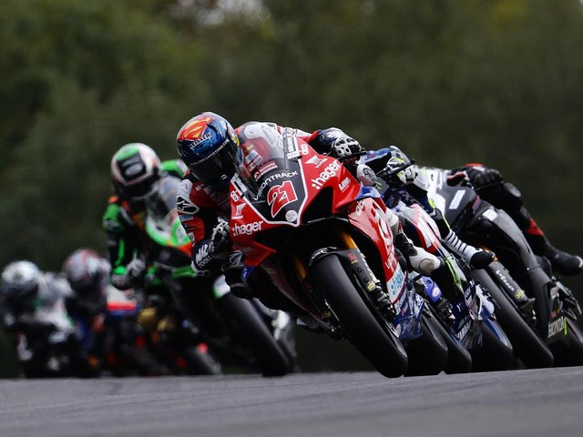 Action from last year's shortened championship. Photo: Getty Images