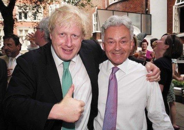 Melton MP Sir Alan Duncan (right) pictured with Boris Johnson before he became Prime Minister EMN-210604-131011001