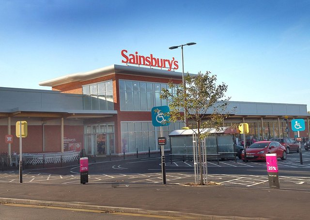 Sainsbury's supermarket at Melton EMN-210419-123107001