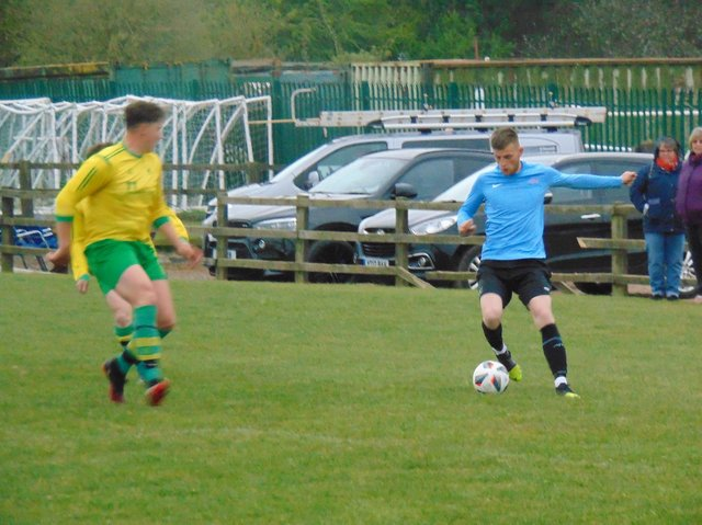Brandon Hands scored for Asfordby.