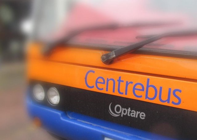 A Centrebus bus in Melton EMN-210430-164727001