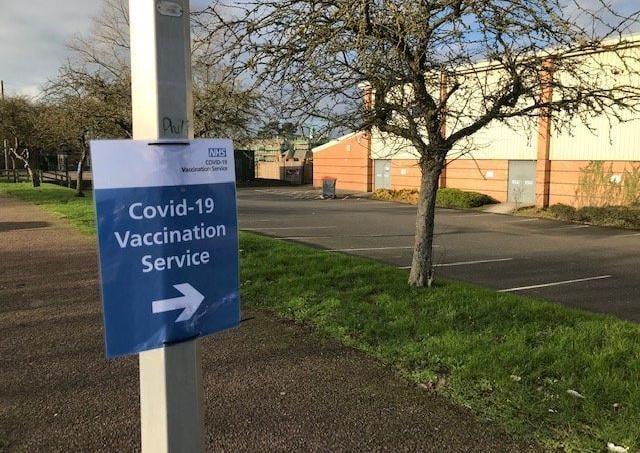 The Melton Vaccination Centre at Melton Sports Village, off Burton Road EMN-210505-103527001
