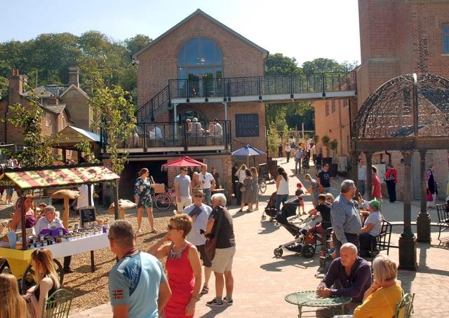 The Engine Yard retail park at Belvoir CastlePHOTO TIM WILLIAMS EMN-211005-155944001