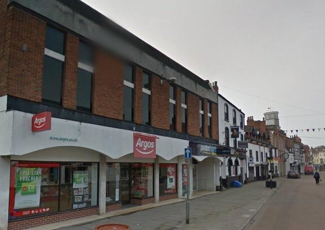 The former Argos store in Nottingham Street, Melton, which closed in March 2020 and which was not reopened EMN-211105-112523001