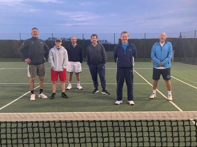 The Belvoir Vale men's team.