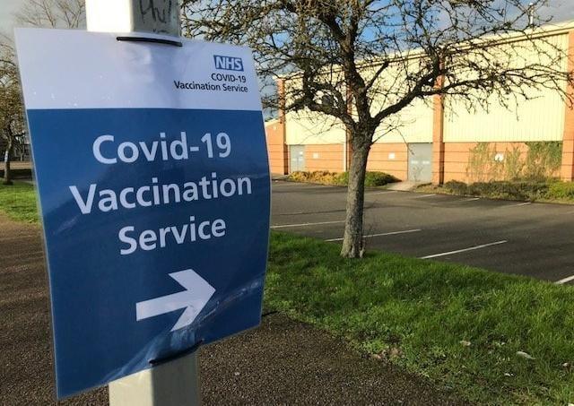 The Melton Vaccination Centre at Melton Sports Village, off Burton Road EMN-210520-160538001