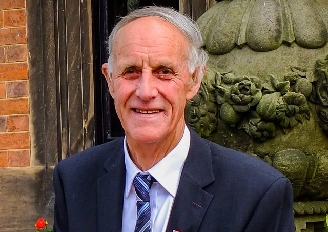 Bill Fryer, wearing his British Empire Medal, who has passed away aged 94 EMN-210521-135510001