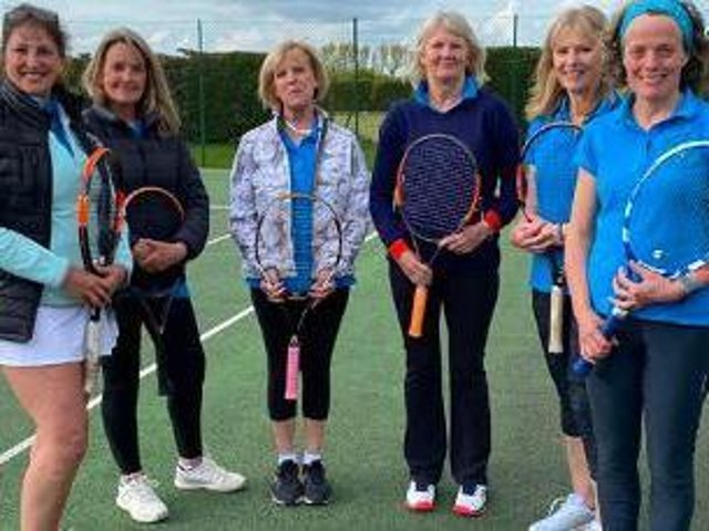 Pictured are the Ladies' Seconds team.