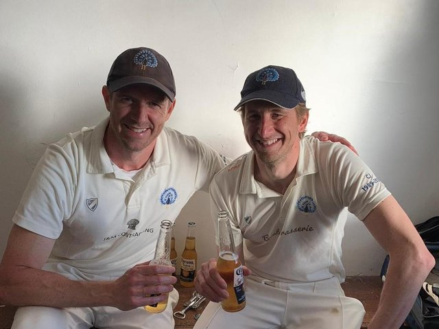 The Clayfield brothers more than earned their beer.