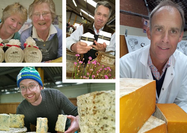 A montage of images from Melton's Artisan Cheese FairPHOTO: Tim Williams EMN-210906-173138001