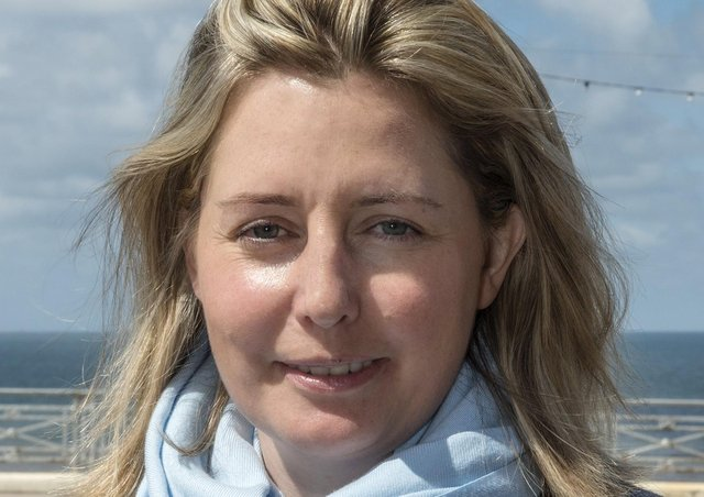 Rachel Huxford, director of marketing & fundraising for the RAF Association, who has been awarded an MBE in the Queen's Birthday Honours ListPHOTO: Heidi Burton ABIPP EMN-210616-124930001