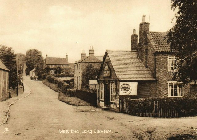 West End in Long Clawson pictured in the 1930s EMN-210618-101751001