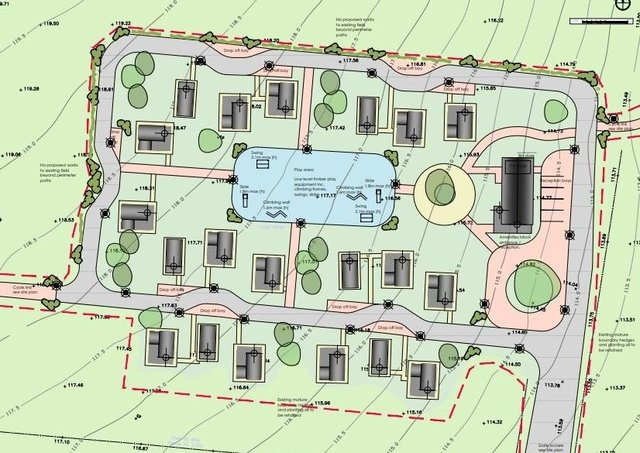 The plans for a glamping park at Twinlakes as designed by HSSP Architects EMN-210624-180312001