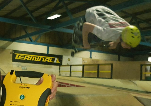 Terminal 1 indoor skatepark in Melton which is closing later this month EMN-210807-155155001